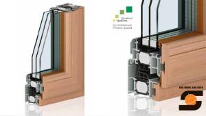 Nodo Serramenti alluminio legno